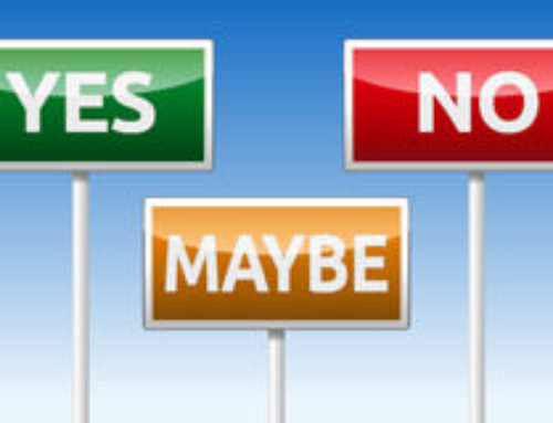 A Yes or a No is Better than a Maybe